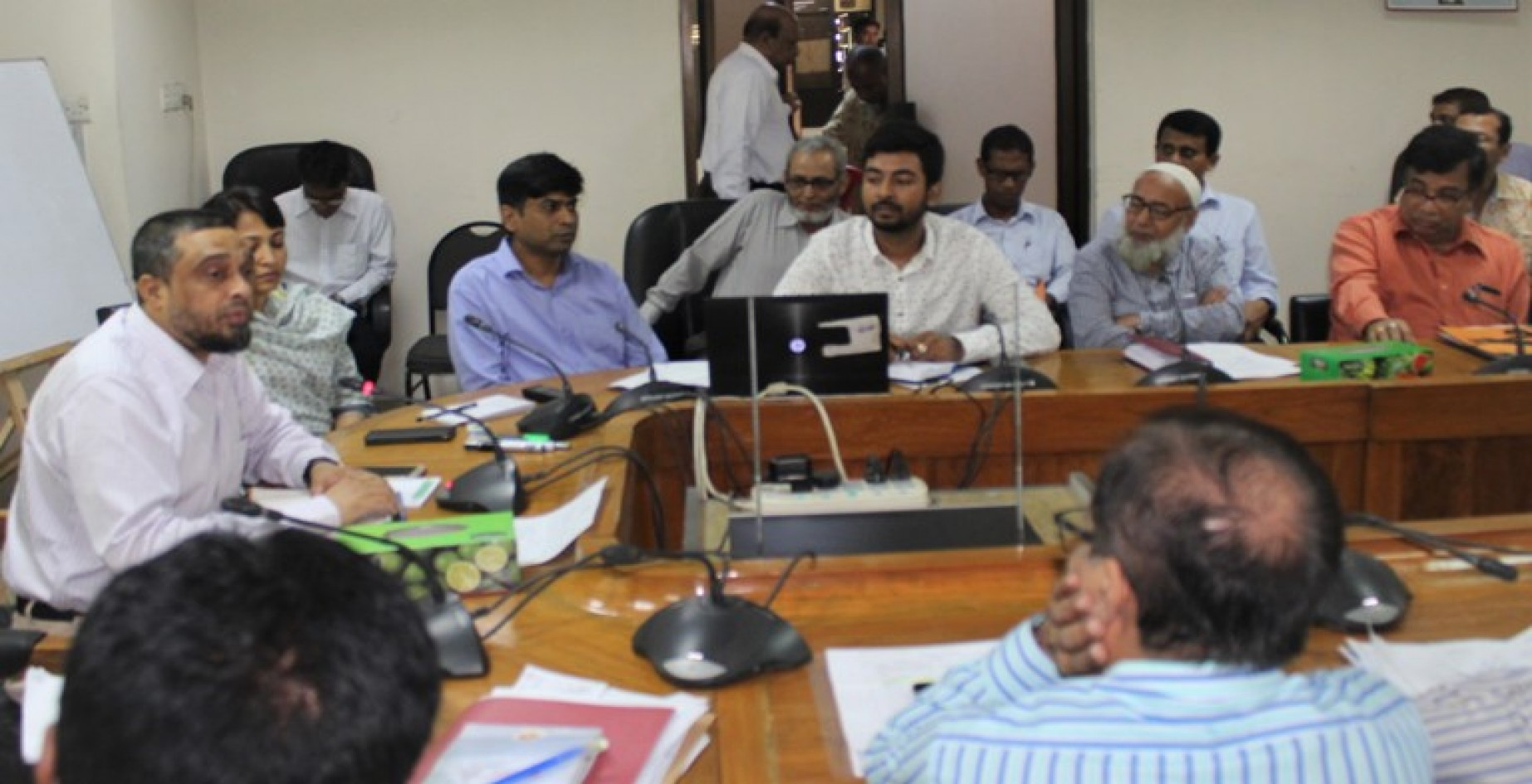 Monthly Meeting at Conference Room, Civil Audit Directorate